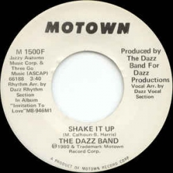 Dazz band shake it up 1980 with song lyrics video and free year stopboris Images