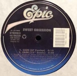 Sweet Obsession - Cash (1989) - With Song Lyrics, Video and