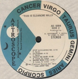 Eleanore Mills - Telegram (1974) - With Song Lyrics, Video