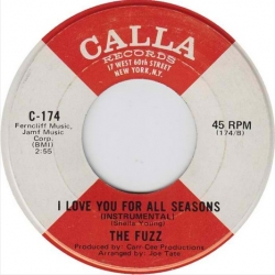 The Fuzz - I Love You for All Seasons (1971) - With Song Lyrics
