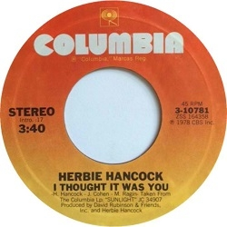 a9ceb7f05242 Herbie Hancock - I Thought It Was You (1978) - With Song Lyrics ...