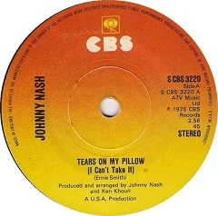 Johnny Nash Tears On My Pillow 1975 With Song Lyrics Video And Free Mp3 Download