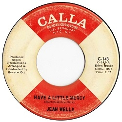Jean Wells - Have a Little Mercy (1967) - With Song Lyrics