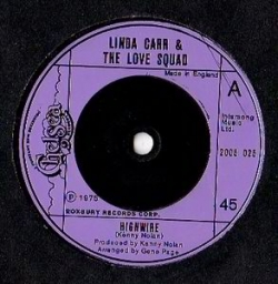 Linda Carr and the Love Squad - Highwire (1975) - With Song