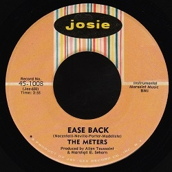 The Meters - Ease Back (1969) - With Song Lyrics, Video and Free MP3