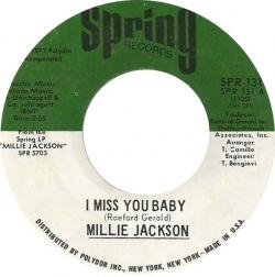 Millie Jackson - I Miss You Baby (1972) - With Song Lyrics