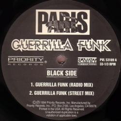 Paris - Guerrilla Funk (1994) - With Song Lyrics, Video and