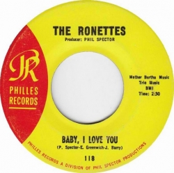 The Ronettes - Baby, I Love You (1963) - With Song Lyrics
